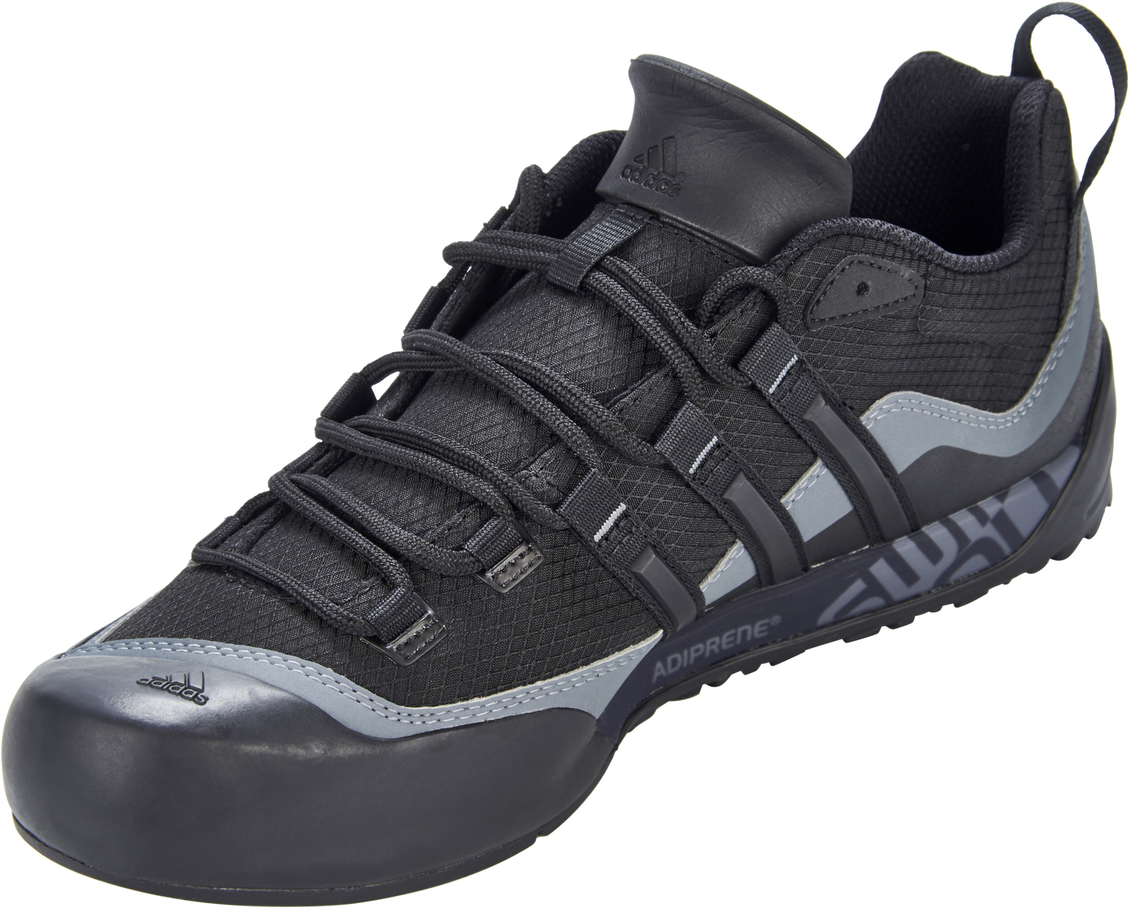 94596e7c2a23a adidas TERREX Swift Solo 2 Shoes Men grey black at Addnature.co.uk